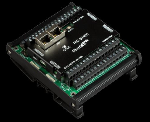 EtherCAT Remote I/O PLC